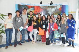 Grupo de alunos da Unip